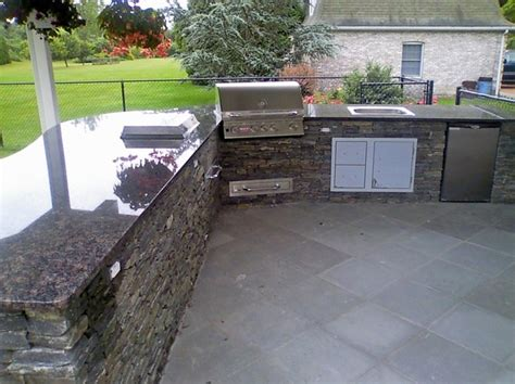 outdoor grill traditional patio providence by