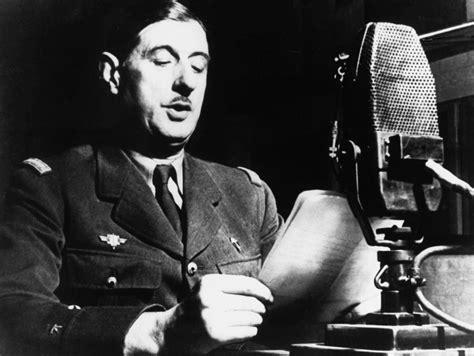 Charles de Gaulle le 18 juin 1940 : un homme seul face à l ...