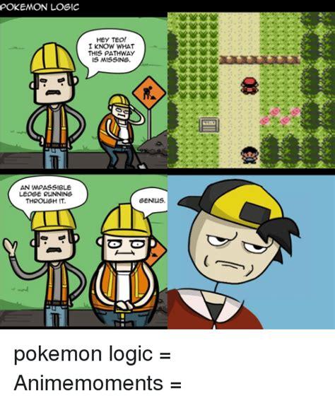 Pokemon Logic Meme - logic pokemon funny comic images pokemon images