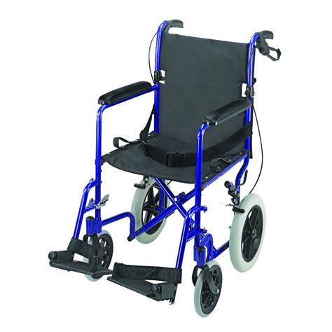 dmi lightweight transport chair in aluminum 501 1051 2178