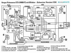 Kabelbaum Vespa 125 Primavera Et3  Vmb1t   U0026quot Schweiz U0026quot