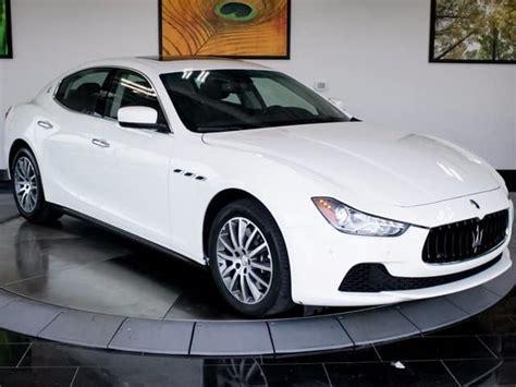 Maserati Of Denver by Gently Used 2014 Maserati Ghibli Luxury Awd Sedan For Sale