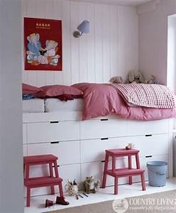Möbel Für Kleine Zimmer : kinderbett f r kleines zimmer ~ Frokenaadalensverden.com Haus und Dekorationen