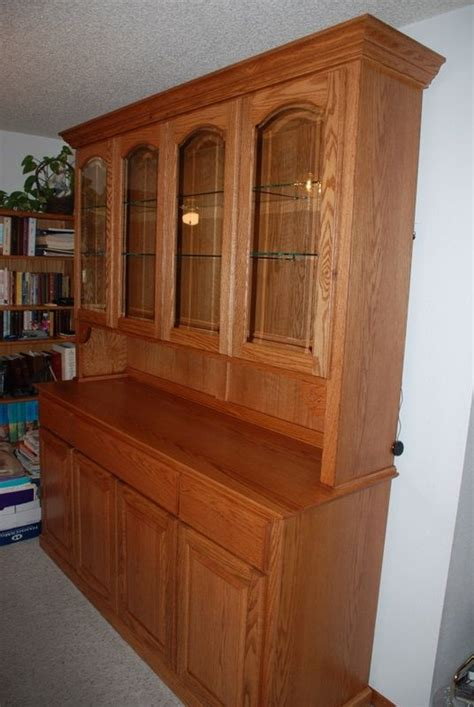 kitchen buffet cabinet hutch made oak china hutch by daniel cabinets custommade 5137