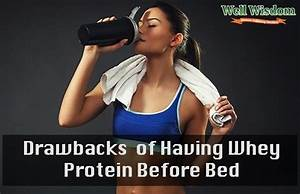 Casein Or Whey Protein Before Bed