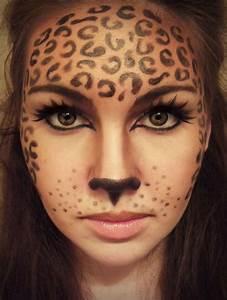 Make Up Ideen : die besten 25 leopard schminken ideen auf pinterest ~ Buech-reservation.com Haus und Dekorationen