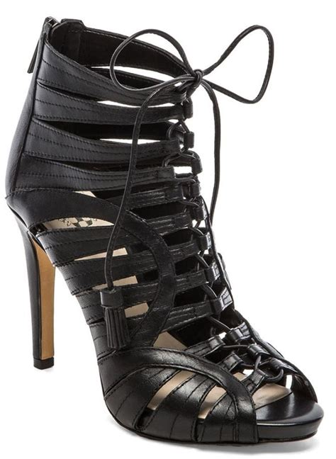 lace vince camuto sandals heels date collins lily strappy bootie evans chris booties puts night shoes