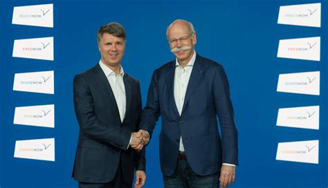 Bmw And Daimler Reveal Details Of Joint Company To Target