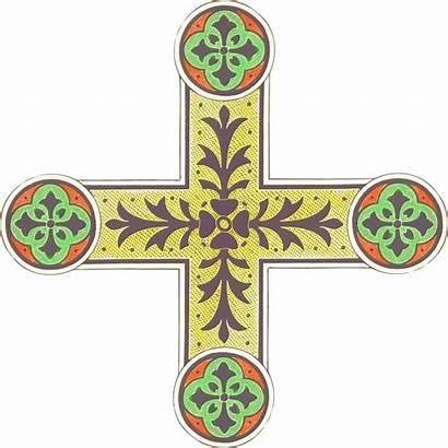 Cross Ornamental Clip Onlinelabels