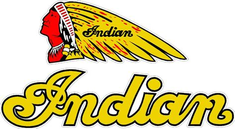 Indian Motorcycle Decal Pair
