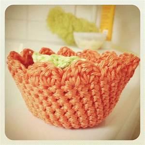 Corbeille Au Crochet : pour ma salle de bain madame fait du crochet ~ Preciouscoupons.com Idées de Décoration