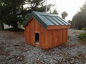 large dog house amish built chicken coops With tall dog house