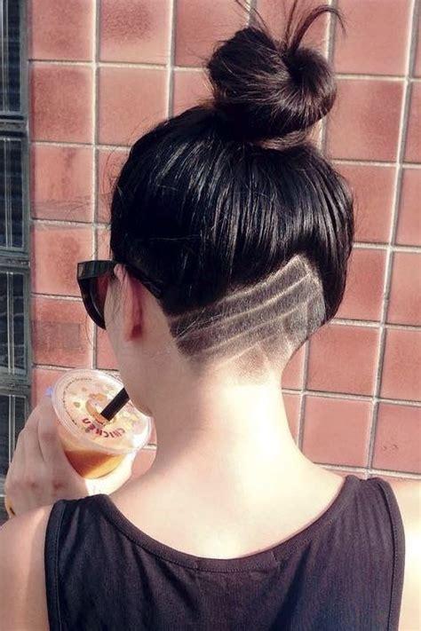 topknot undercut hair tattoo sidecuts undercuts