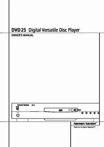 Harman Kardon Dvd 25  Serv Man8  User Guide    Operation