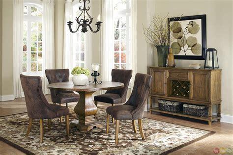 parkins  pedestal table dining room set