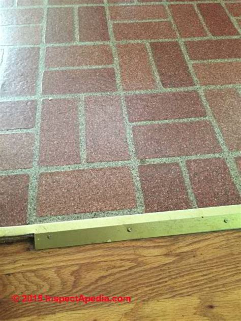 asbestos content  brick pattern sheet flooring armstrong