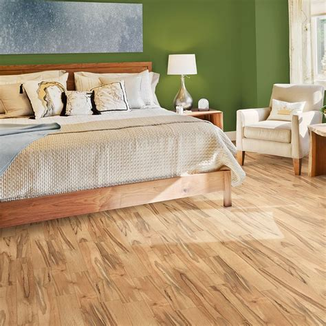monterey maple laminate flooring shop pergo max 5 35 in w x 3 96 ft l monterey spalted maple embossed laminate wood planks at