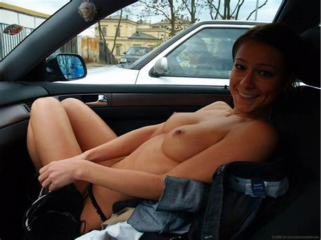 #Naked #In #A #Car