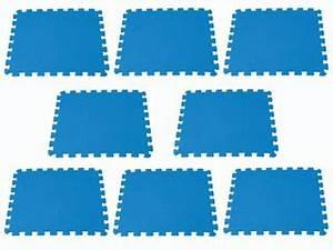 Tapis Piscine Hors Sol : tapis de sol intex puzzle coloris bleu piscine hors ~ Dailycaller-alerts.com Idées de Décoration