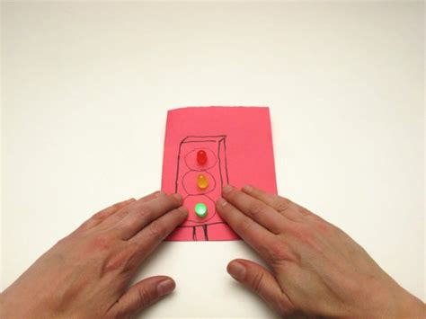 Paper Circuit Parallel With Pressure Switch Make