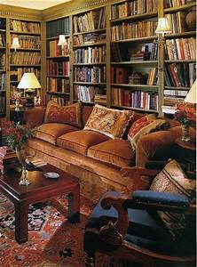 Cozy library corner | Shabby Chic Furniture Ideas | Pinterest