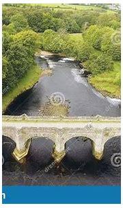 Bridge At River Crana At Buncrana Castle O'Doherty's Keep ...