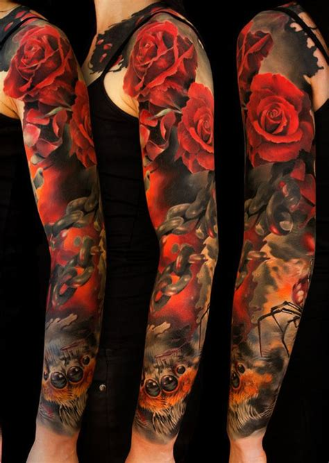 awesome examples  full sleeve tattoo ideas tattoo