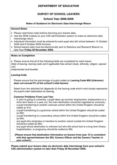 Resume School Leaver by Cv Template For School Leavers Http Webdesign14