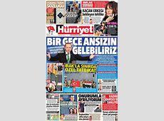 Günün gazete manşetleri 26 Eylül 2017 1 NTV