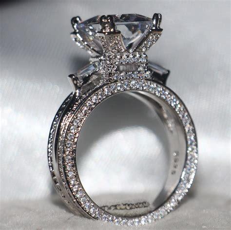 size   luxury jewelry ct white topaz gemstones