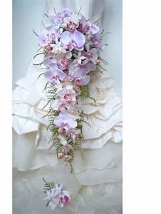 Bouquet De La Mariée : bouquet de mari e cascade orchid e jasmin rose blanc fleur ~ Melissatoandfro.com Idées de Décoration