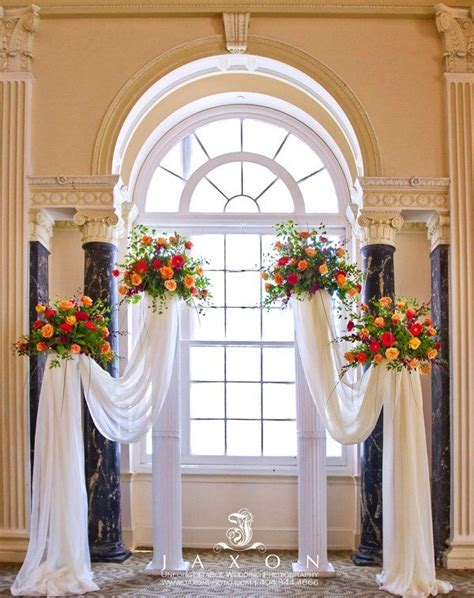 Put Bird Cages On Pedestals With Sheer Fabric Draped From