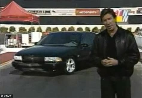 tim allens car stolen man nips stars chevy  impala