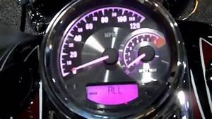 Harley-davidson Analog Speed  Tach Combo