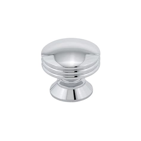 contemporary kitchen knobs richelieu hardware contemporary 1 3 16 in 30 mm chrome 2500