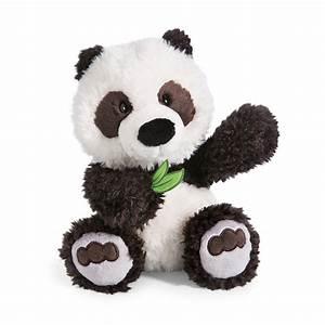 Riesen Panda Kuscheltier : nici kuscheltier wild friends panda yaa boo mit bambusblatt in der pfote 25 cm ~ Orissabook.com Haus und Dekorationen