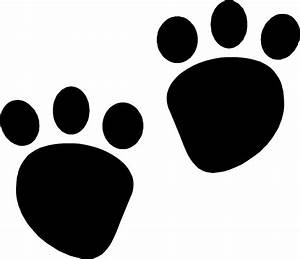 Footprint Clipart Mouse