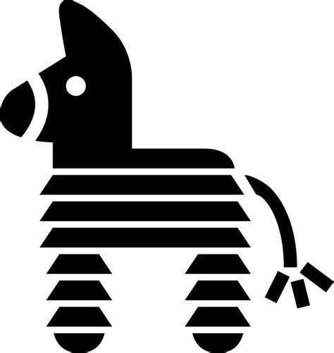 Piñata Of Mexico With Horse Shape Svg Png Icon Free ...