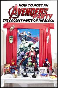Host an Amazing Avengers Party Ideas, Recipes & Free