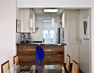 Petite Salle à Manger : petite cuisine moderne quels meubles de cuisine ouverte ~ Preciouscoupons.com Idées de Décoration