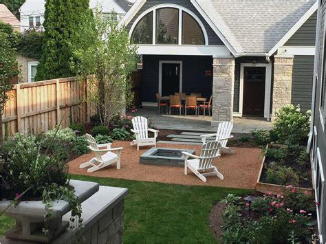 Back Porch Landscaping Ideas by Patio Backyard Wrap Around Landscape Back Porch