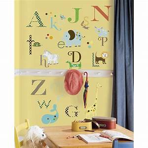 animal alphabet wall stickers With wall stickers alphabet letters