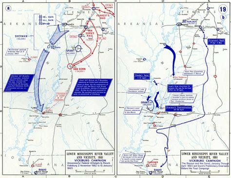 Map showing Grierson's Raid