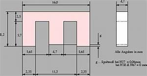 Masse Aus Dichte Berechnen : berechnung eines magnetischen kreises am beispiel eines ferritk ~ Themetempest.com Abrechnung