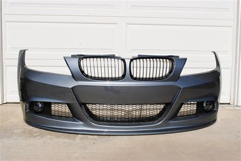 Space Grey Lci M Sport Bumper With Molded Lip