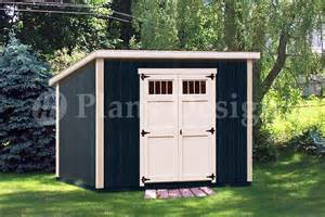 6 x 10 classic deluxe modern storage shed plans design
