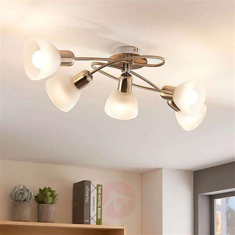 Compra Lámpara LED de techo Paulina de 5 bombillas salón