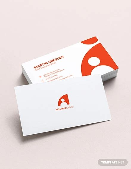 business card template pages 32 modern business card templates word psd ai apple