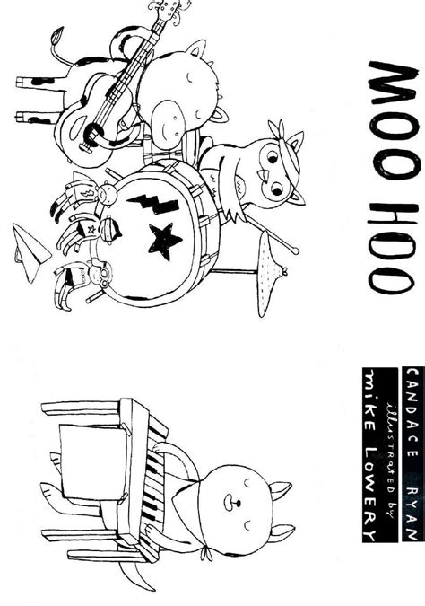And from now on, this is the very first photograph: Candace Ryan's Moo Hoo Coloring Sheet 1   Coloring sheets, Candace