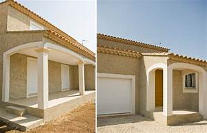 Choisir Couleur Facade Maison : couleur facade maison cool couleur facade maison gris ~ Nature-et-papiers.com Idées de Décoration